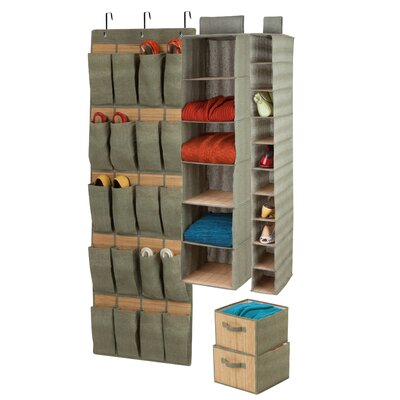 4 Piece Closet Organizer Set Product Photo