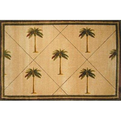 L.A. Rugs Fun Time Palm Fonds Palm Tree Novelty Rug