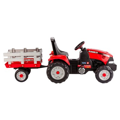 Case IH Tractor and Trailer by Peg Perego