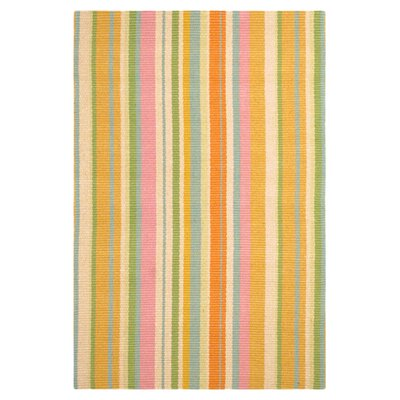 Dash and Albert Rugs Woven Tangerine Dream Indoor Area Rug