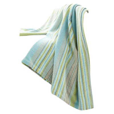 Aquinnah Woven Cotton Throw Blanket by Dash and Albert Rugs