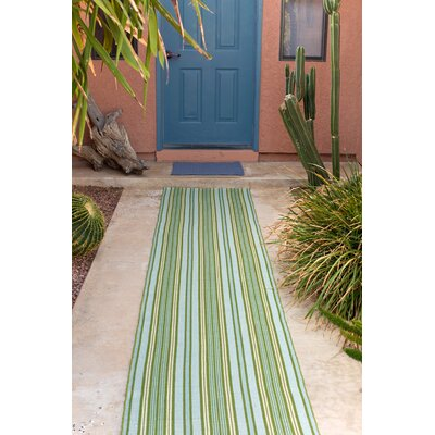 Dash and Albert Rugs Indoor/Outdoor Rope Denim Outdoor Area Rug