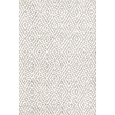 Dash and albert rugs indoor outdoor white grey area rug for Albert and dash outdoor rugs