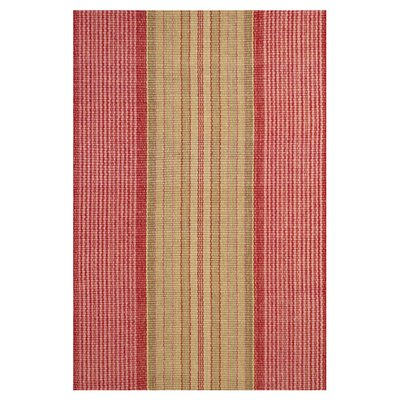 Dash and Albert Rugs Woven Framboise Red Area Rug