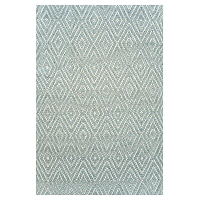 Dash and Albert Rugs Woven Light Blue Diamond Area Rug RDB163