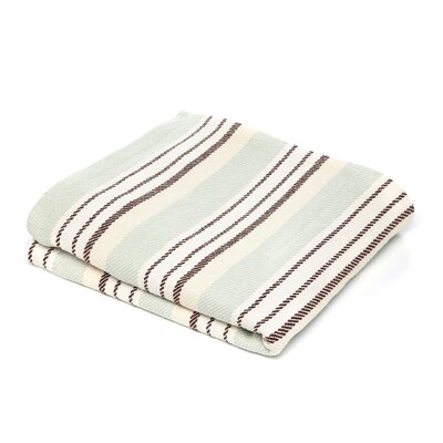 Dash and albert rugs vanilla woven cotton throw reviews for Dash and albert blanket