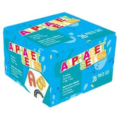 """Fox Run Craftsmen 26-Piece 3"""" Alphabet Cookie Cutter Set"""