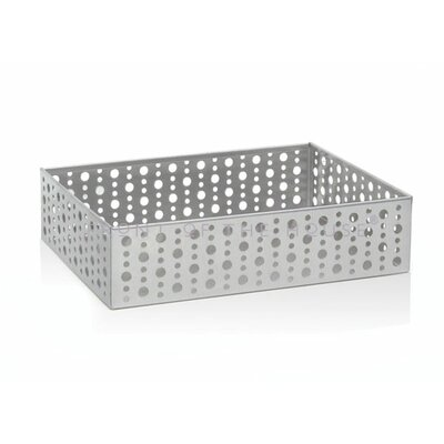 Front Of The House Stainless Steel Dots Rectangle Holder