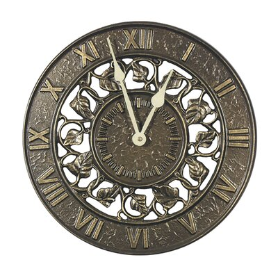 Ivy Silhouette Clock by Whitehall Products