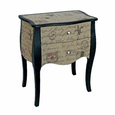Cheungs Wooden 2 Drawer Chest