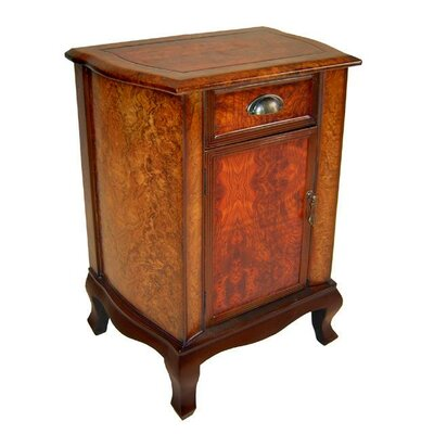 Cheungs Wooden 1 Door with Cupped Handle Cabinet