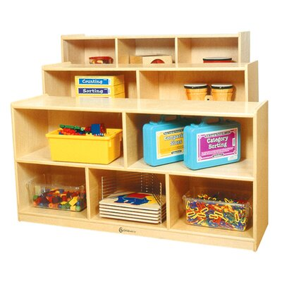 Toddler Shelf by A+ Child Supply
