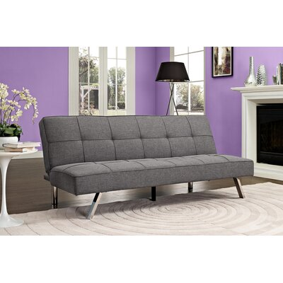 Zoe Convertible Futon and Mattress by DHP