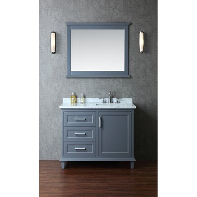 "Nantucket 42"" Single Bathroom Vanity Set with Mirror Product Photo"