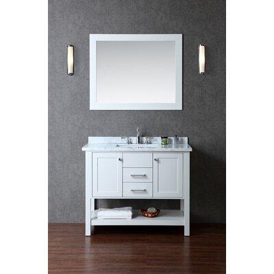 "Bayhill 42"" Single Bathroom Vanity Set with Mirror Product Photo"