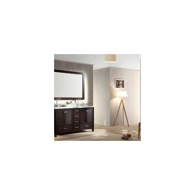 "Cambridge 61"" Double Sink Vanity Set with Mirror Product Photo"