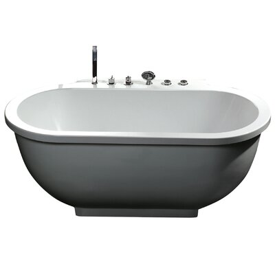 "71"" x 37"" Whirlpool Bathtub Product Photo"