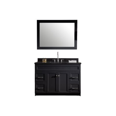 "Hamlet 49"" Single Sink Vanity Set with Mirror Product Photo"