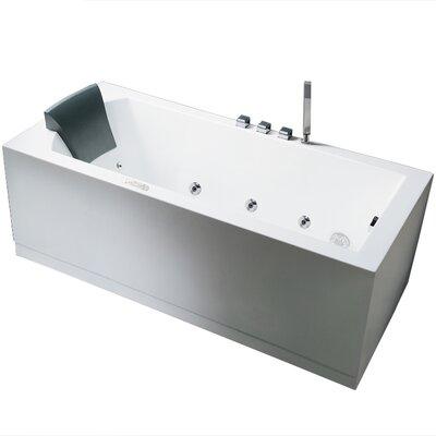 "Platinum 59"" x 31.5"" Whirlpool Bathtub Product Photo"