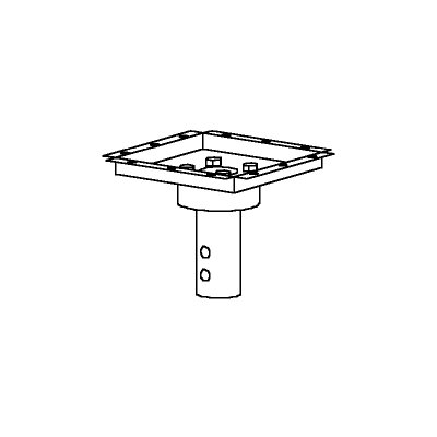 Peerless Peerless TV and Projector Mounts and Parts Structural Ceiling Decoupler