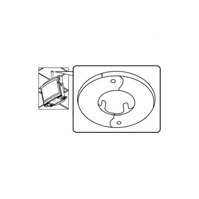 Peerless Peerless TV and Projector Ceiling Mounts and Parts Escutcheon Ring