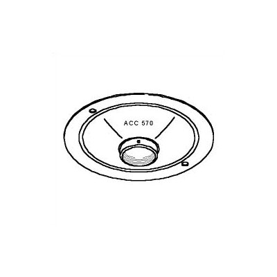 Peerless Round Structural/Finished Ceiling Plate