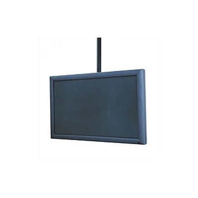 "Flat Panel Straight Column Tilt Universal Ceiling Mount for 32"" - 60"" Flat Panel Screens Product Photo"