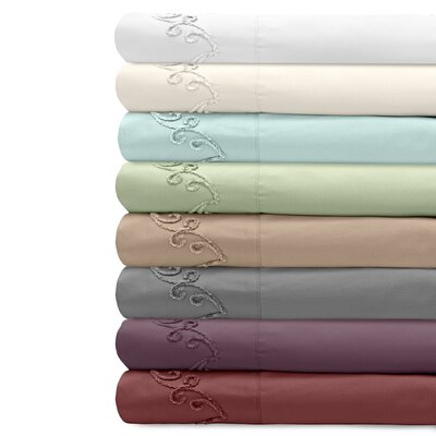 Supreme Sateen 500 Thread Count Cotton Pillowcase by Veratex