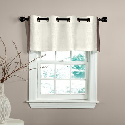 "Central Park 50"" Grommet Curtain Valance Product Photo"