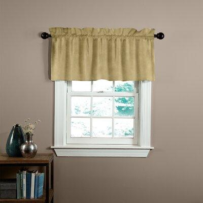 Velvet Soft Luxury Tailored Curtain Valance Product Photo