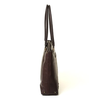 Solo Cases Vintage Leather Laptop Carry Tote Bag