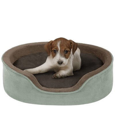 Reversible Cuddler Bolster Dog Bed by Soft Touch