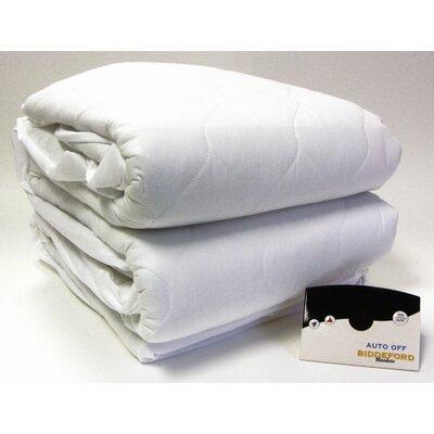 Biddeford Blankets Heated 50% Cotton Mattress Pad with