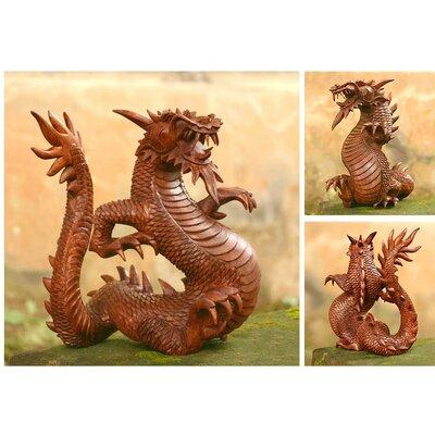 Novica 'Legendary Dragon' Figurine