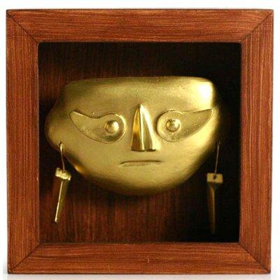 Shadow Box Lambayeque Mask by Novica