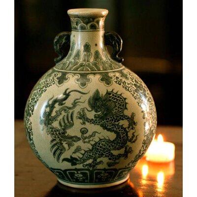 'Dance of Dragons' Vase by Novica