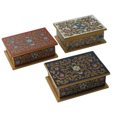 Novica Asunta Pelaez Painted Glass Box