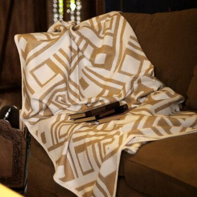Labyrinths Throw Blanket by Novica