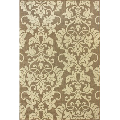 Dawn Brown Elmkaly Indoor/Outdoor Rug by nuLOOM
