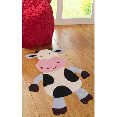 nuLOOM Kinder Daisy the Cow Area Rug