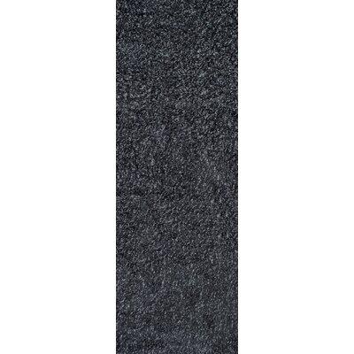 nuLOOM Shaggy Black & Gray Area Rug