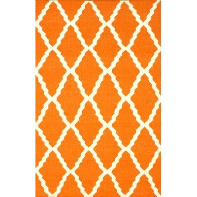 Moderna Orange Trellis Area Rug by nuLOOM