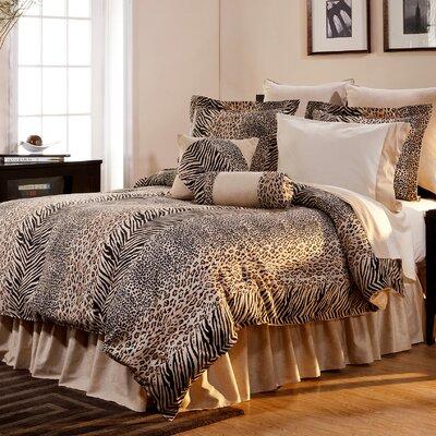 Luxury 12 Piece Animal Print Comforter Set by Pointehaven