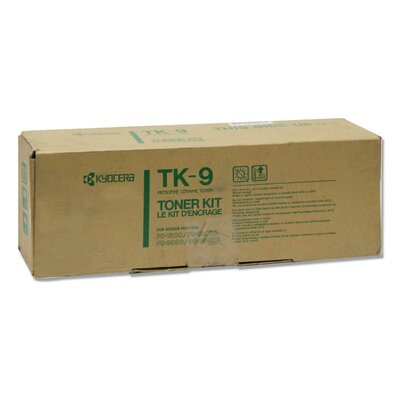 Kyocera Toner Cartridge, 6000 Page Yield, Black