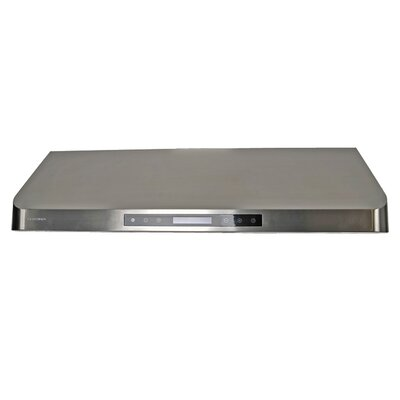 "36"" 385 - 900 CFM Under Cabinet Range Hood in Stainless Steel Product Photo"
