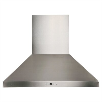 "42"" 860 CFM Wall Mount Range Hood in Stainless Steel Product Photo"