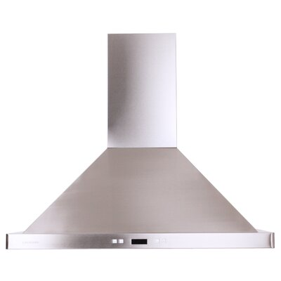 "30"" 900 CFM Ductless Wall Mount Range Hood in Stainless Steel Product Photo"