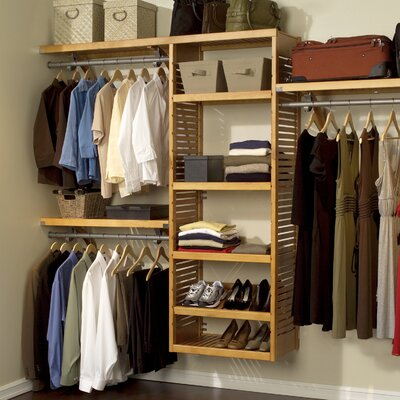 "16"" Deep Deluxe Closet Organizer Set Product Photo"