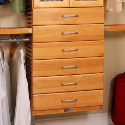 "16"" x 6"" Drawer Closet Organizer Product Photo"