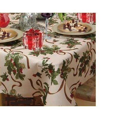 Seasonal Ribbons and Bows Tablecloth by Violet Linen